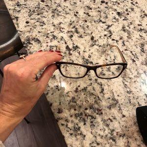 Ray ban frames euc with prescription lenses